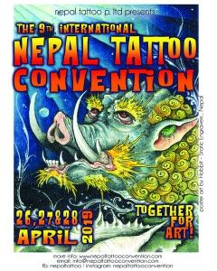 Nepal Tattoo convention 2019, tattoo nepal